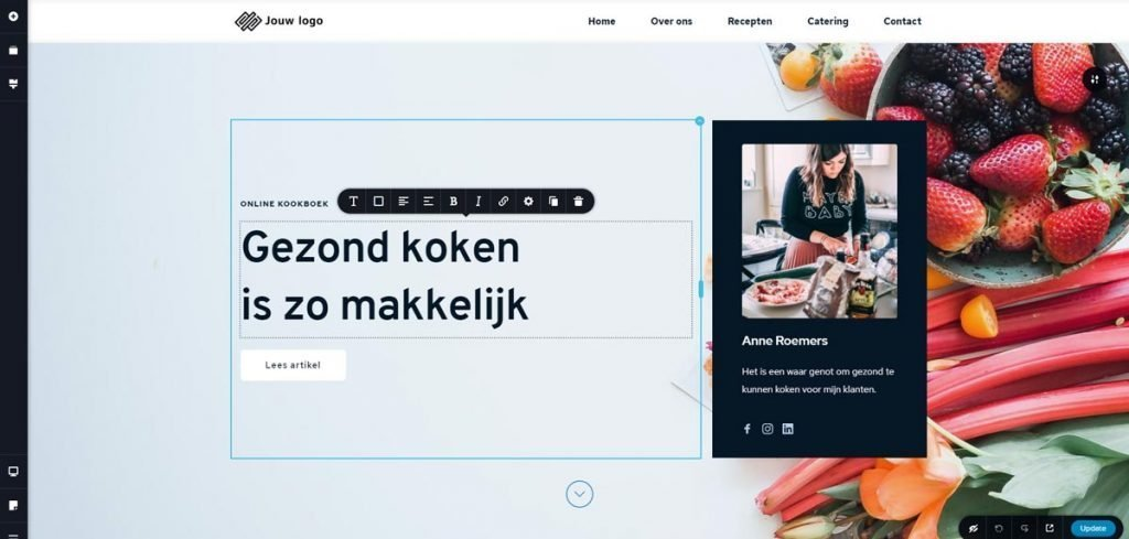Ons front-end systeem 4