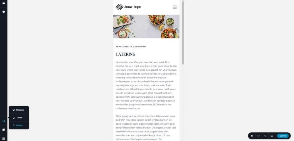 Ons front-end systeem 5