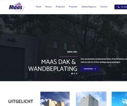 Maas dak- & wandbeplating 8